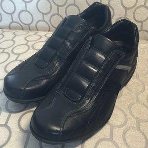 Men's ECCO Black Dress Casual Shoes